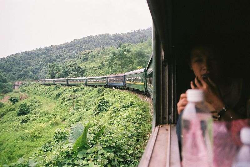 越南現行鐵路運輸系統。(Santi LLobet@Wikipedia / CC BY 2.0)