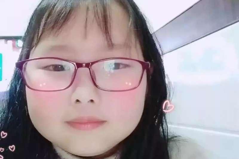 2019年7月,中國浙江一名9歲小女孩章子欣遭家中兩名房客拐走,不幸遇害(微博)
