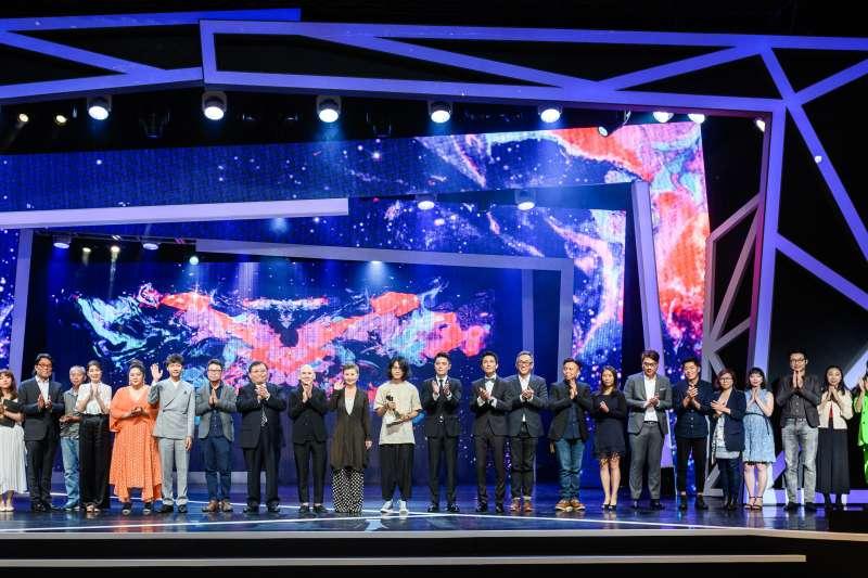 第21屆台北電影獎得獎者合影。(台北電影節提供)