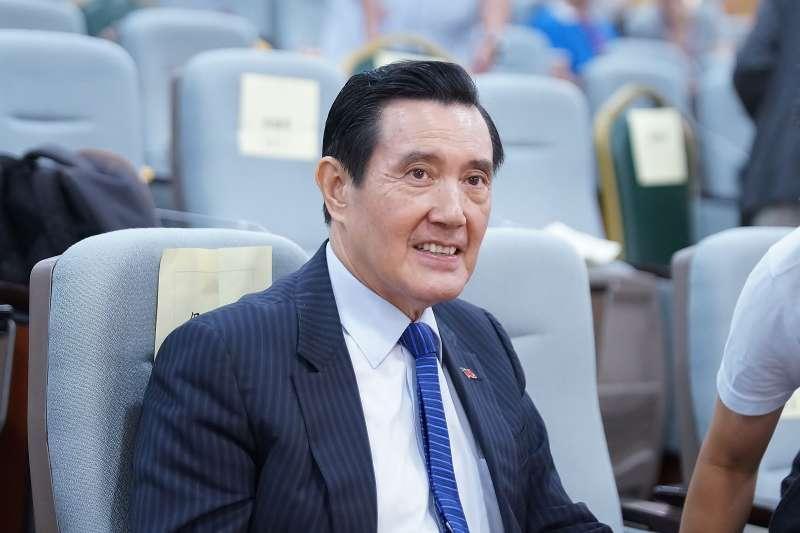 20190714-長風基金會我們與民主的距離研討會,前總統馬英九出席。(盧逸峰攝)