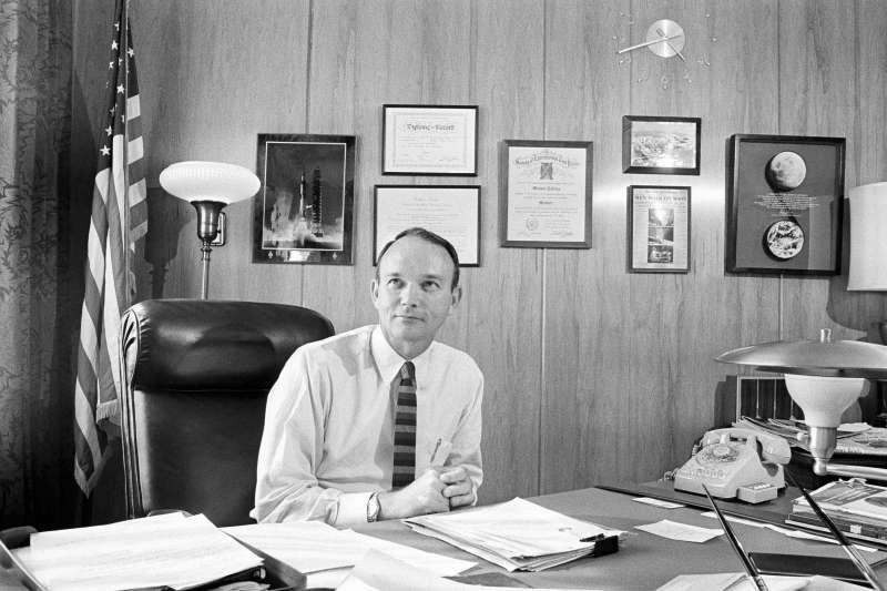 阿波羅11號登月任務太空人柯林斯(Mike Collins)(AP)