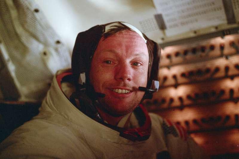 阿波羅11號登月任務太空人阿姆斯壯(Neil Armstrong)(AP)