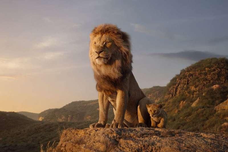這次的獅子王「真人版」,運用了許多高端技術。(圖/imdb)