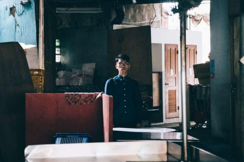 20190715-尚軒專題-香港作家Mr. Pizza。2012年起在香港高登論壇上連載網路小說《那夜凌晨,我坐上了旺角開往大埔的紅van》而爆紅。(王志元攝)