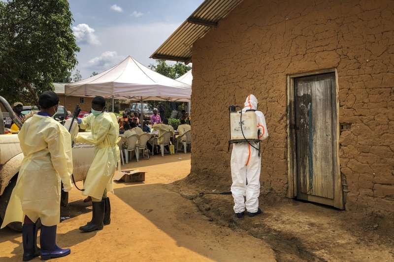 非洲中部剛果民主共和國爆發伊波拉疫情。(AP)