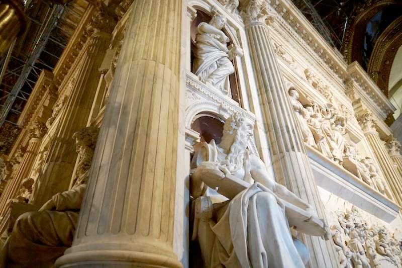 文藝復興時期藝術作品中最偉大的雕塑傑作之一(曾廣儀攝)