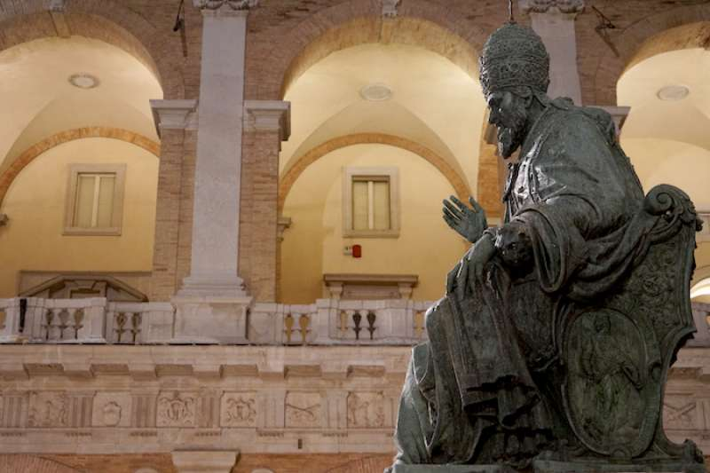 教宗朱利歐二世雕像(曾廣儀攝)