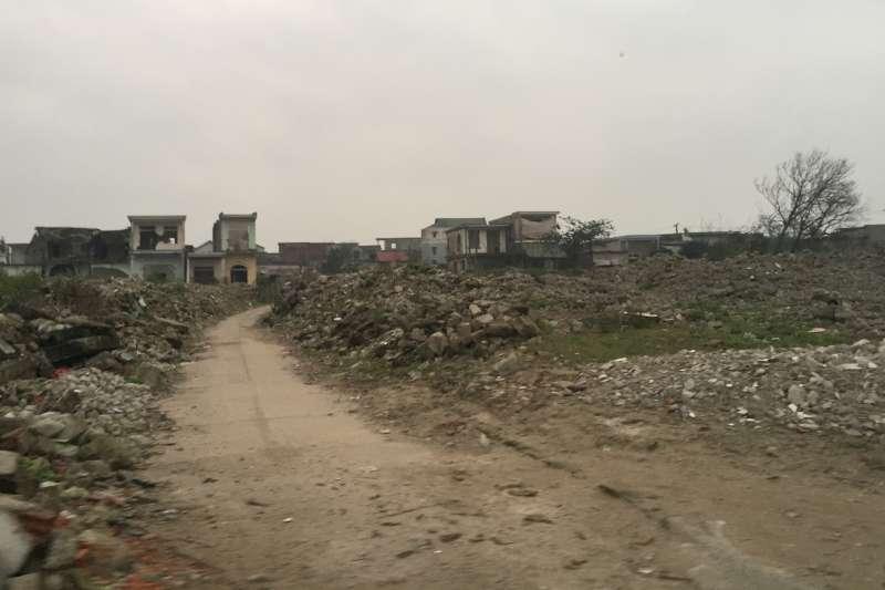 20190717-羿雯專題-台塑越南河靜煉鋼廠(越鋼)污染案,圖為老冬言村。(彭保羅提供)