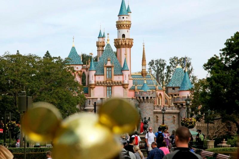 美國加州迪士尼樂園。(AP)