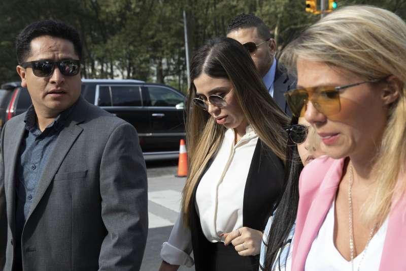 """全球頭號毒梟「矮子」古茲曼(Joaquín """"El Chapo"""" Guzmán)的妻子艾斯普羅(Emma Coronel Aispuro)(AP)"""