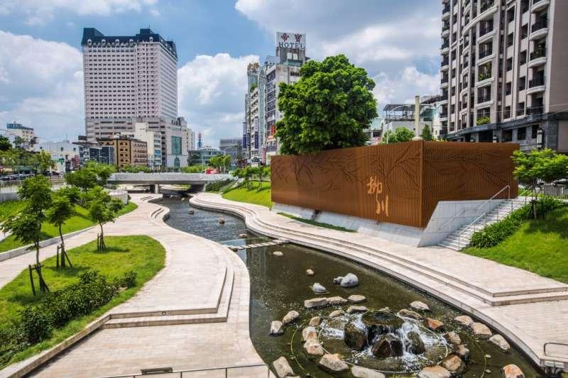 台中市柳川是熱門景點。(取自台中觀光旅遊網)