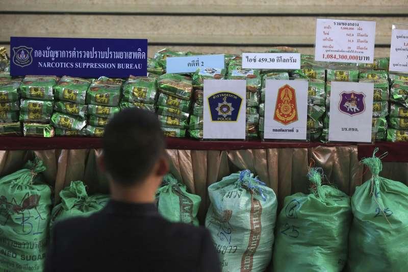 東南亞毒品問題猖獗。(資料照,AP)
