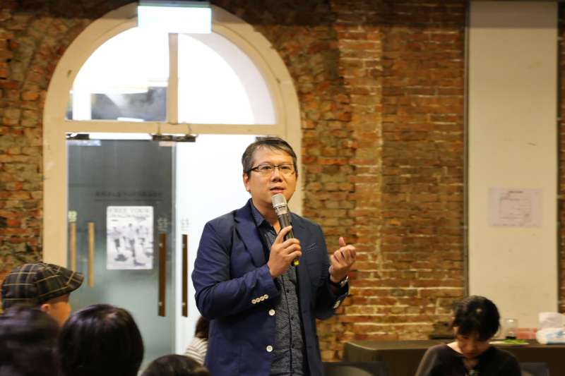 20190718-清大學環境與文化資源學系副教授榮芳杰。(台灣文化政策研究學會提供)