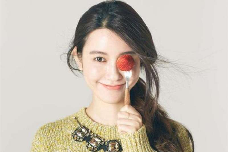 外貌甜美的張大奕,被稱為「中國第一網紅」(圖片來源:百度)