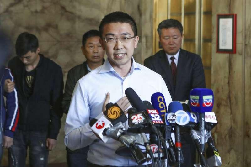 在美遇害中國學者章瑩穎的未婚夫侯霄霖。(AP)