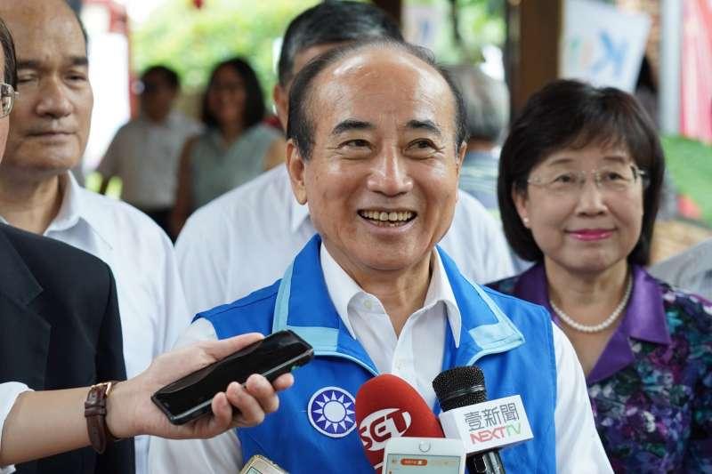 2019年7月20日,立法院前院長王金平受訪(王金平辦公室)