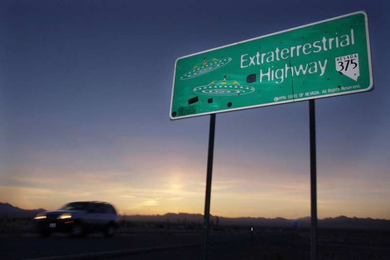 鄰近美國神秘「51區」(Area 51)外星人公路(Extraterrestrial Highway)(AP)