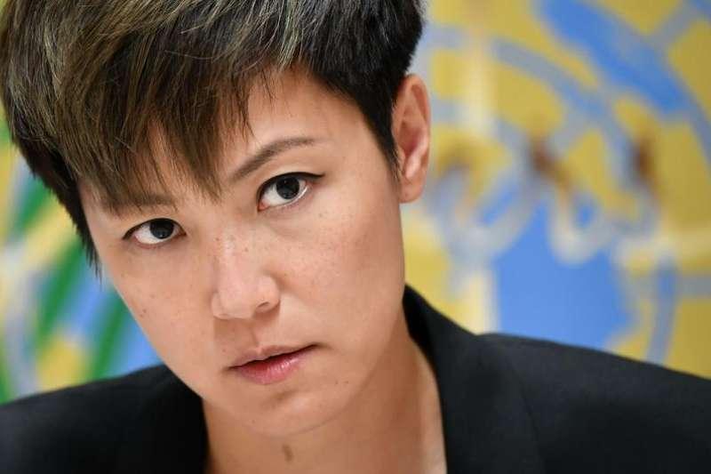 香港歌手何韻詩(DW)