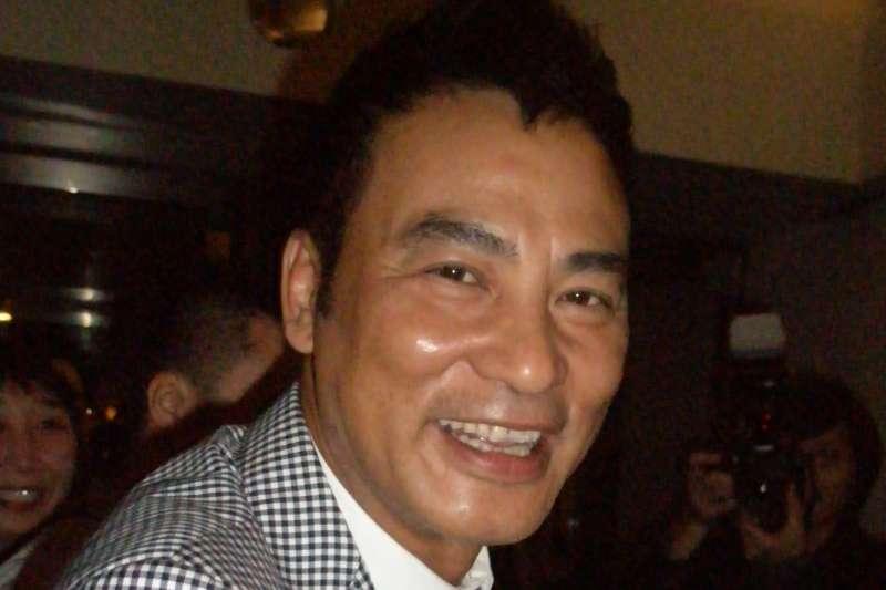香港男星任達華,攝於2010年(May S. Young@Wikipedia / CC BY 2.0)