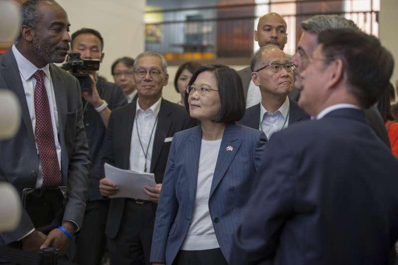 2019年7月20日, 「自由民主永續之旅」蔡英文總統參訪美國國家大氣研究中心(總統府)