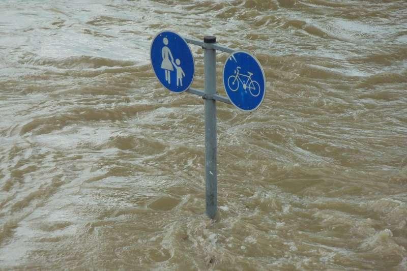 (此為示意圖)中國暴雨連下兩個月,農作物損失慘重。(圖/Pixabay)