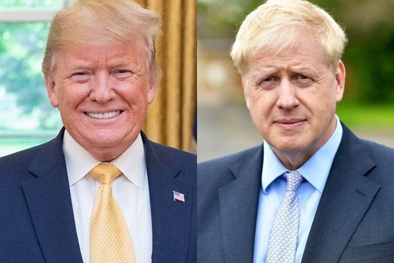 川普與下任英國首相候選人強生(Boris Johnson)有諸多相似之處,他們的驚人言論,讓人為這對兄弟之邦捏把冷汗(圖片來源:左圖取自facebook.com/WhiteHouse、右圖取自facebook.com/borisjohnson)