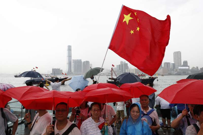 中國官方日前宣布停止境內47個城市發放赴台自由行通行證。(資料照,美聯社)