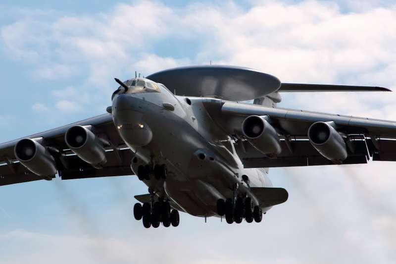 俄羅斯空軍「熊蜂」A-50(Beriev A-50)空中預警機(Alex Beltyukov@Wikipedia / CC BY-SA 3.0)