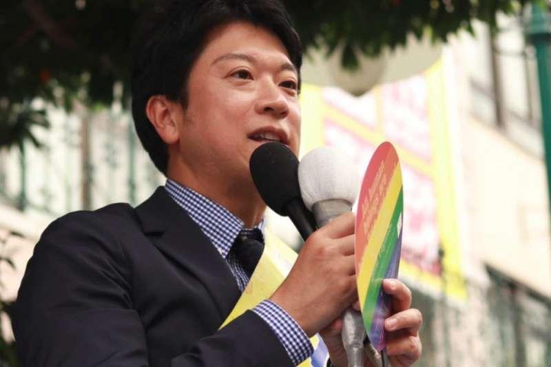 日本立憲民主黨同志參議員石川大我。(取自推特@ishikawataiga)