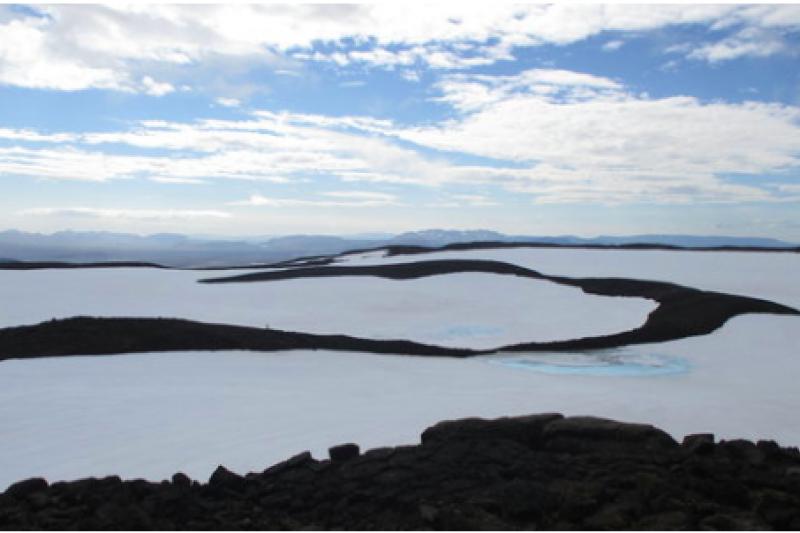 科學家將於8月18日,正式替失去冰川資格的冰島Ok冰川設立紀念碑(截自紀錄片NotOk官網)