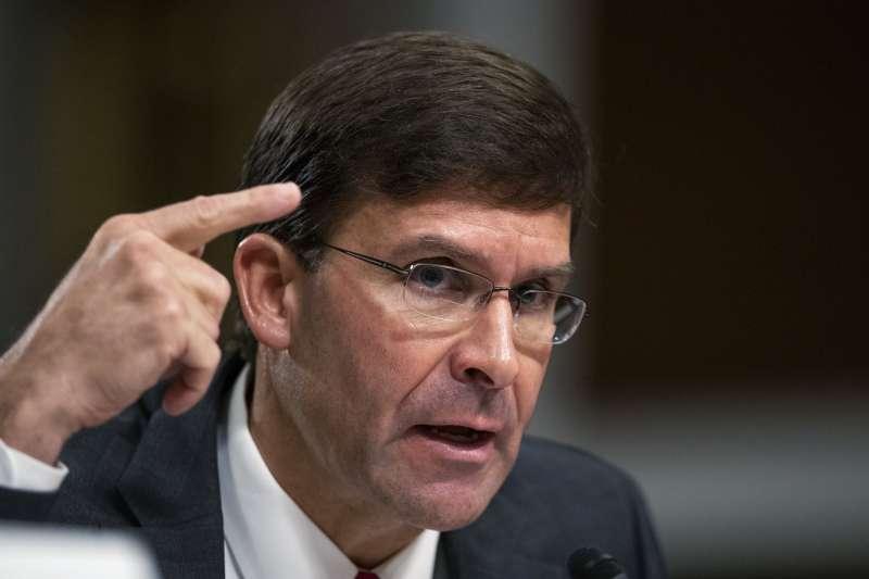 美國新任國防部長艾斯培。(AP)