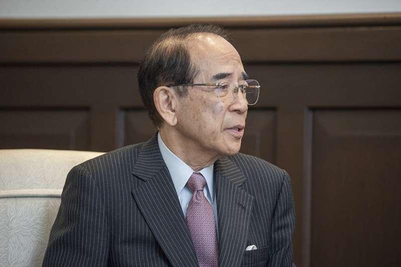 20190724-日本台灣交流協會大橋光夫會長拜會總統蔡英文。(總統府提供)