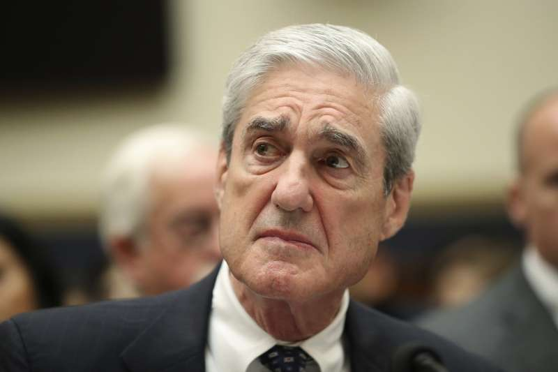 2019年7月24日,通俄門特別檢察官穆勒出席美國聯邦眾議院司法委員會聽證會(AP)