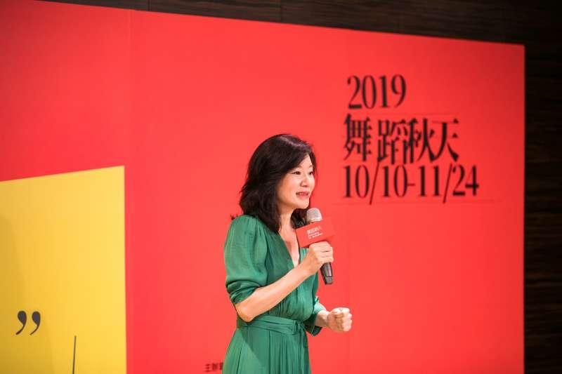 20190725-兩廳院「舞蹈秋天」藝術節邁入第9年,25日舉行記者會。圖為何曉玫Meimage舞團、《極相林》編舞何曉玫。(兩廳院提供)