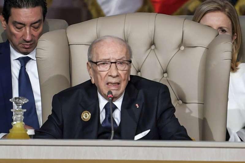 突尼西亞總統埃塞卜西(Beji Caid Essebsi)(AP)