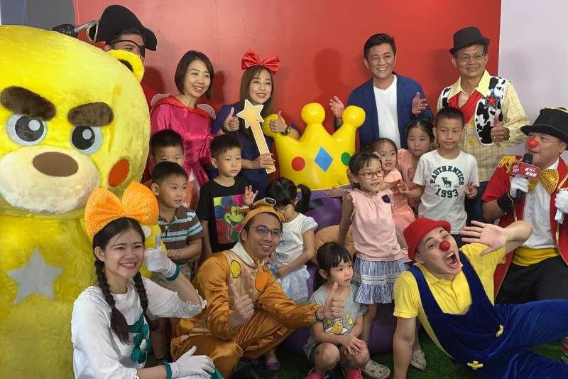 首發全新的宇宙馬戲團系列「輝熊好玩劇團」,28日將在竹市西雅公園首演登場。(圖/新竹國際青商會提供)