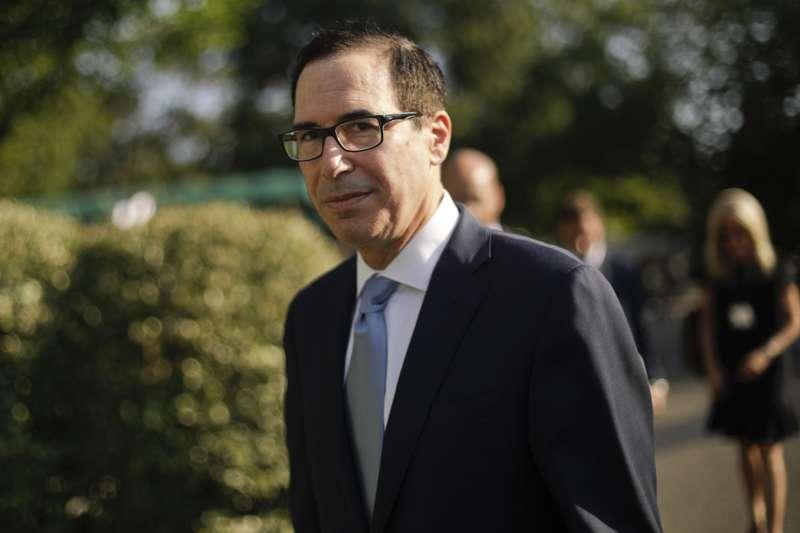 美國財長馬努欽。(AP)