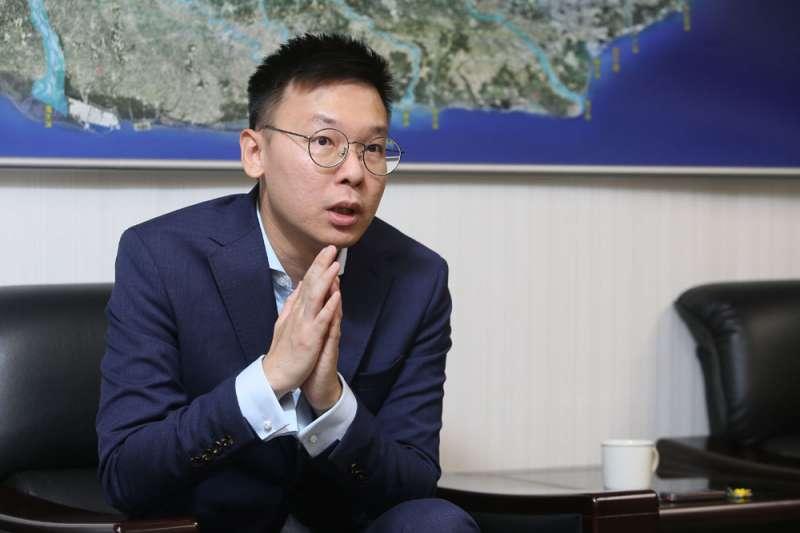 日前民進黨副祕書長林飛帆(見圖)就核四議題向前行政院長張善政提出3點質疑。(資料照,柯承惠攝)