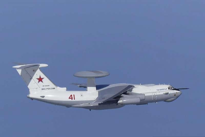 俄國A-50空中預警機(圖)從東南側侵入獨島領空,遭南韓空軍警告射擊。(AP)