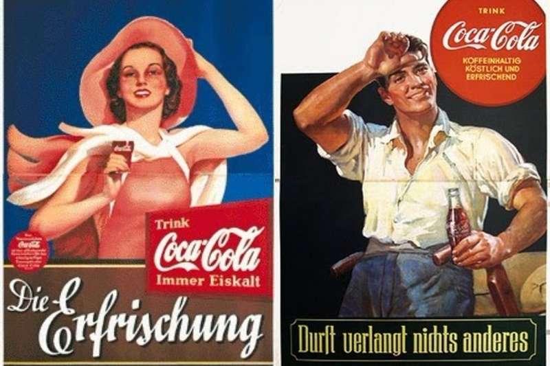 你知道可口可樂是如何同時在美國與德國紅起來的嗎?(圖/網路|風傳媒合成)