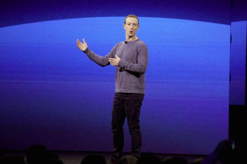 臉書執行長祖克柏(Mark Zuckerberg)。(美聯社)