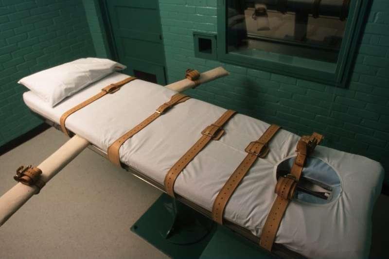 美國德州執行死刑的房間。(BBC中文網)