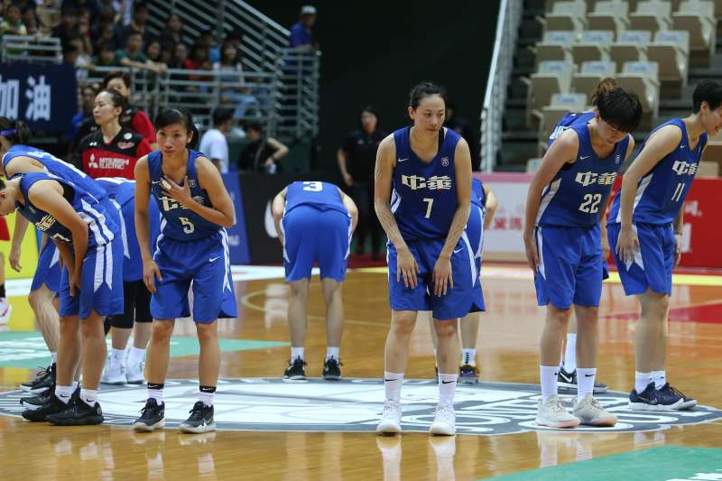當男籃有兩位歸化球員在瓊斯盃試訓,女籃是否能有機會一試?(中華籃協提供)