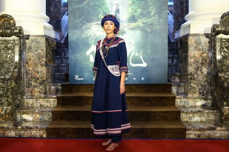温貞菱在《傀儡花》飾演主角蝶妹,蝶妹也被導演曹瑞原譽為台灣戲劇史上最難角色。(公視提供)