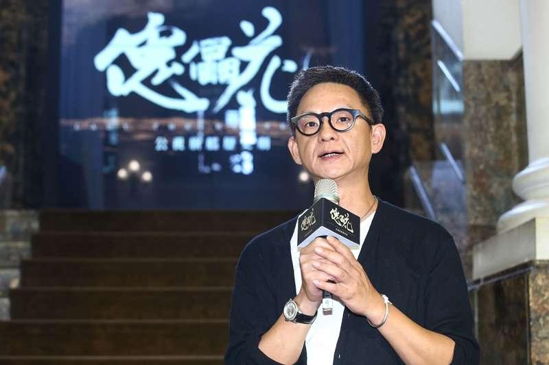 20190729-《傀儡花》導演曹瑞原出席增資募資暨前導影片發佈記者會。(公視提供)