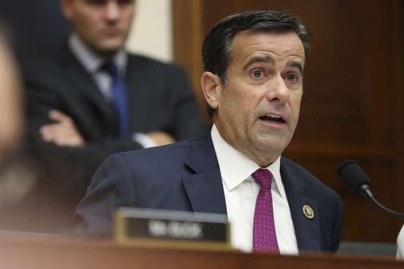 美國德州聯邦眾議員雷克里夫被川普提名為國家情報總監繼任者(AP)