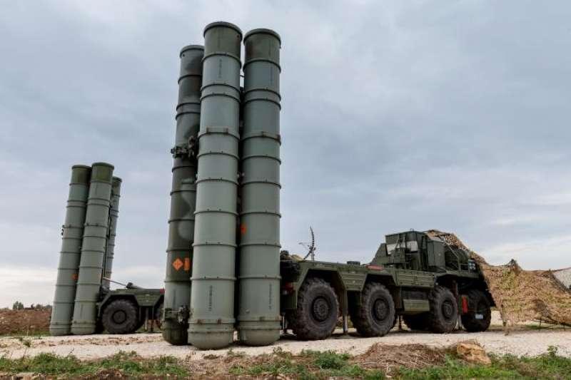 俄國的S-400飛彈。(美聯社)