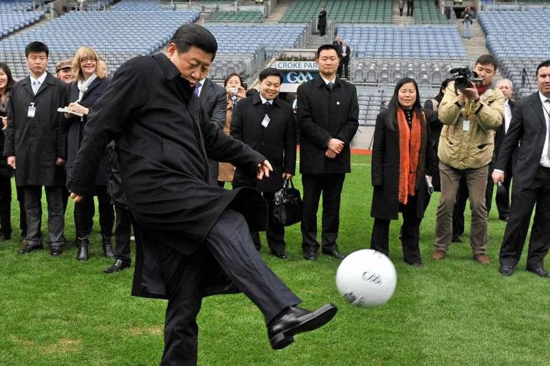 中國國家主席習近平有足球夢(AP)