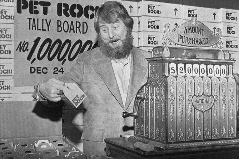 加裏·達爾靠賣石頭寵物賺了上百萬(圖/Getty Images)