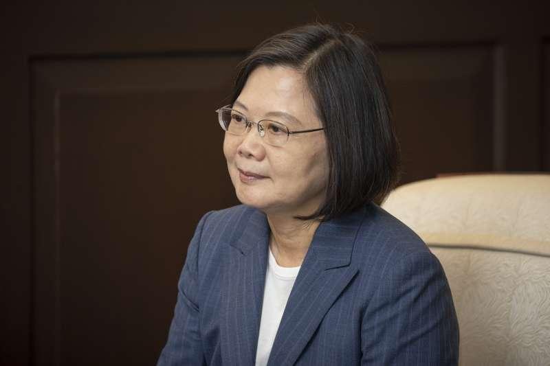 私菸案難善了,蔡英文總統只能打香港牌圍魏趙。(取自總統府Flickr)